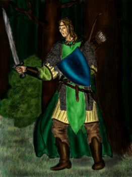 Kaldir as a Ranger by MirachRavaia