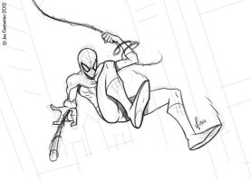 Spidey 01-25-13 by JoeCostantini