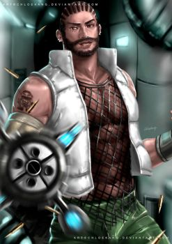 Barret Wallace by ChloeKang