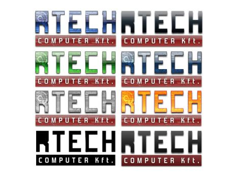 RTech Computer logo variations by partisan1991