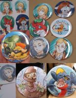 Button Commissions by Ratty08