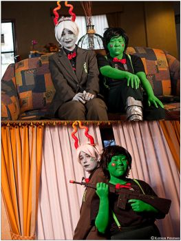Homestuck: Good Vs. Evil by CosplayerWithCamera