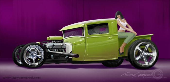 My 1929 Ford Pickup by GaryCampesi