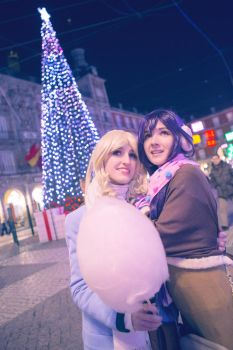 Christmas wish - Love Live Cosplay by blanelle29
