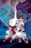 Street Fighter II Turbo 4a by UdonCrew
