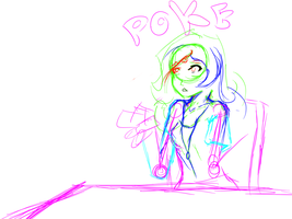 breaking out p 3 sketch by SaharaWaste