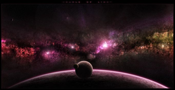 Cradle of light by DKF