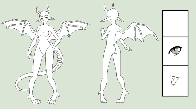 Base Edit - Dragoness Template by Shadow-Bases