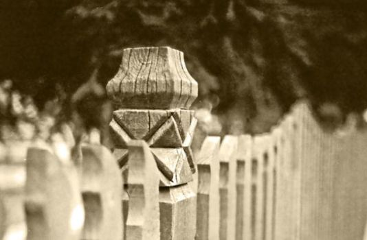 Fence with sekler motif by degentd