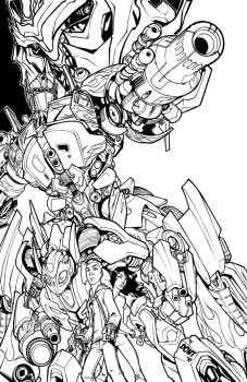 Transformers by DontBornInInk