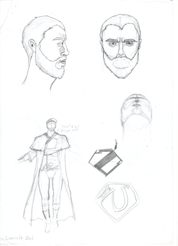 Ultimate DC: Zod Sketches by nimibro