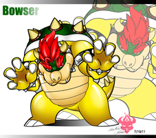 Bowser by Bowser2Queen