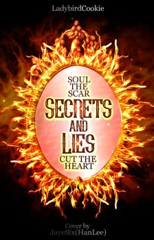 (wattpad cover) Secrets and Lies by jLpanganiban