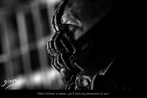 Bane - The Dark Knigt Rises - by GiovaBellofatto