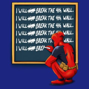 Deadpool Time Out - Official Marvel Design by AngelBee23