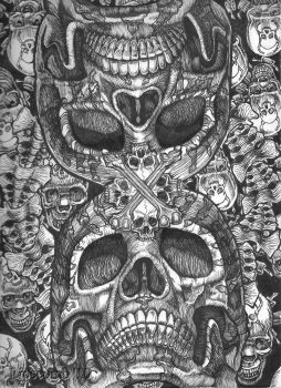 Skulladelic 1 by TheDaveL