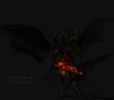 Elemental Force: Lord Gorbarg by blackzig