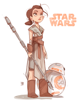 Rey by beiibis