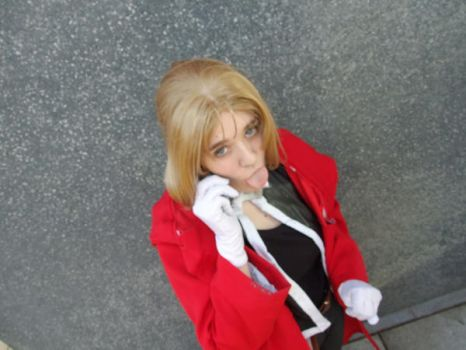 Edward Elric on the phone by FullMetalWing