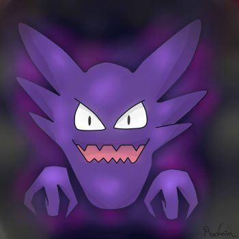 Haunter-Pokemon- by Radrim