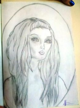 My Sketch of a Lori Early piece by Marydoll512