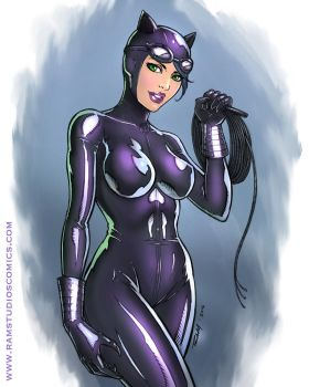 Catwoman by robertmarzullo
