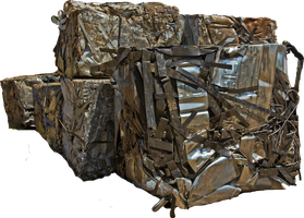 CRUSHED METAL CUBES png by FOTOSHOPIC