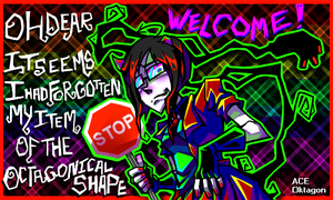 New Tumblr Banner by Krooked-Glasses