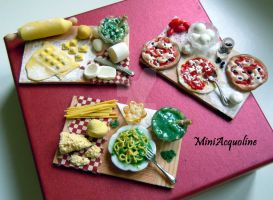 Miniature boards - Italy by miniacquoline