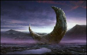 The Broken Moon by ChrisCold