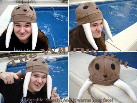 I am the Walrus Hat by silver-raindrops