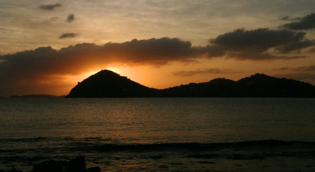 Sunset on St. John by THEsimplePLEASURES