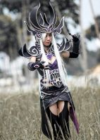 Syndra, the Dark Sovereign from League of Legends by LadyAngelus