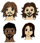 BBC Musketeers - Four Musketeers by Professor-Who