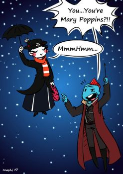 Yondu meets Mary Poppins by mashi