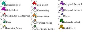 draggie cursors by persephone89