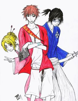 Death Note Champloo by moonraven373