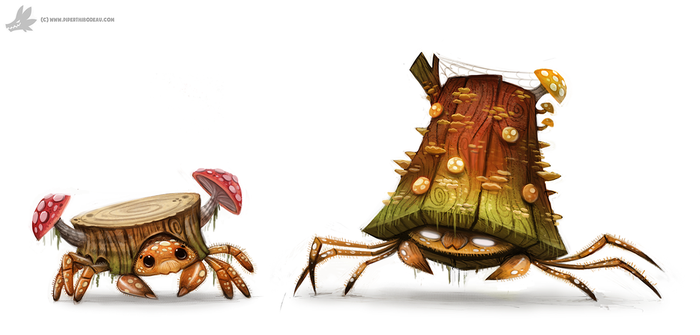 Day 799. Kanto 046 - 047 REDO by Cryptid-Creations