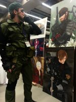 Snake Metal Gear Solid 3 by aquaboysteve