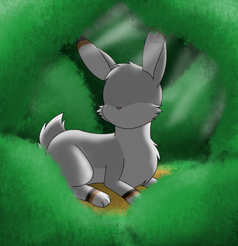 Faceless Bunny by pokesonic100