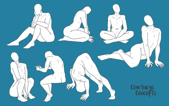 Poses 032 by CourtneysConcepts