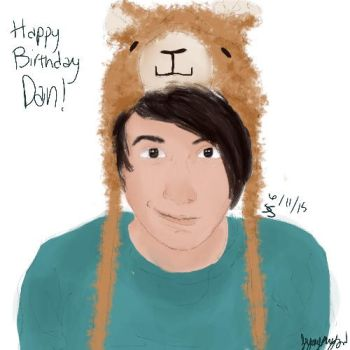 Happy Birthday Dan! by fangirl015