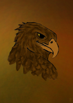 Lord of the Rings : The Great Eagle by elphieofkiamoko