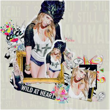 Ke$ha VIII by downgirl