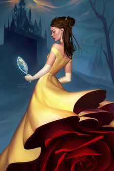 Winter Belle - Beauty and the Beast (+PRINT) by mior3e