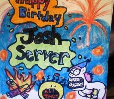 All That Josh Server sign by mistresscarrie