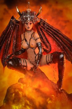 Hot From Hell by GolaMartinez