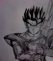 Gohan Z Sword by YoungTalent93