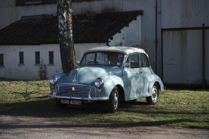 Morris Minor 1000 Convertible by FurLined