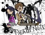 Death Note drawing cosplay by xander1229